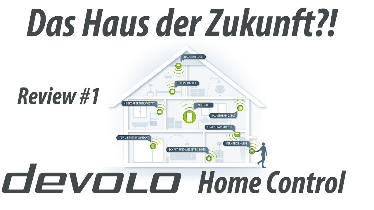 das haus der zukunft devolo home control review youtube. Black Bedroom Furniture Sets. Home Design Ideas