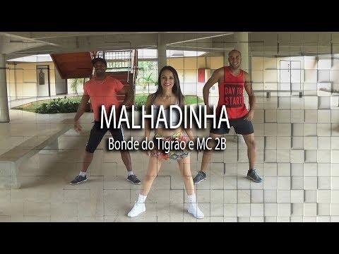 MALHADINHA  - BONDE DO TIGRÃO MC 2B /  CIA QUE QUE ISSO