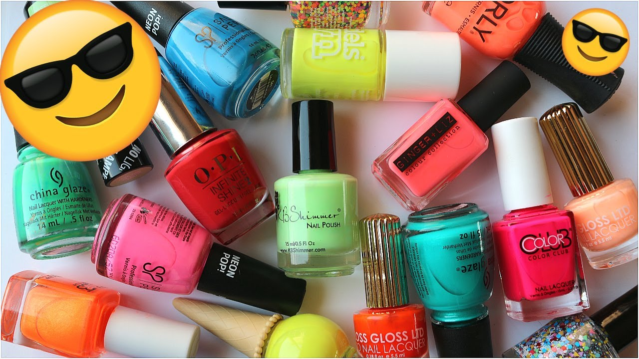 THE BEST NEON POLISHES (and some bad ones) | Banicured - YouTube