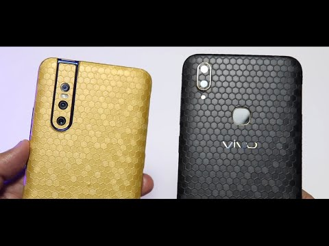 Vivo V15 Pro Honeycomb Skin   Best Skins For Vivo V11 Pro And Vivo V9