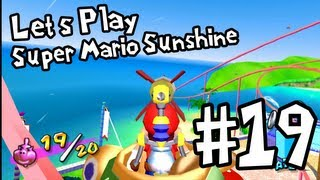 DinosaurFriend plays Super Mario Sunshine - Part 19: Secrets of Pinna Park