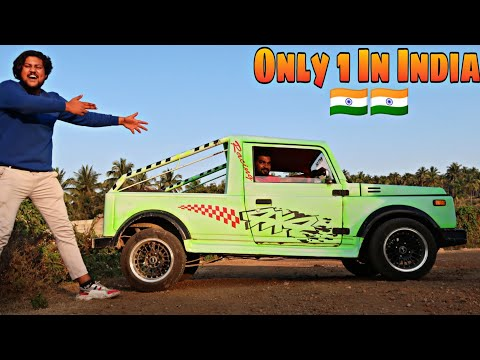 INDIA SMALLEST MARUTI 800 GYPSY😍😱