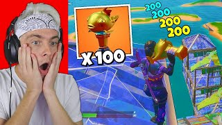 i hosted a mythic fish 1v1 tournament for $100 in fortnite… (so cool)