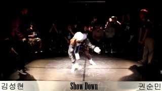 Best 8-1 김성현 VS 권순민 SHOW DOWN VOL.1 All STYLE 1:1 ROOKIE BATTLE -KAC한국예술원