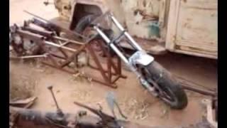VW Custom Frame Trike build video 1: Just getting started