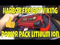 Viking Compact Power Pack by Harbor Freight, Lithium Ion battery jumpstarter!