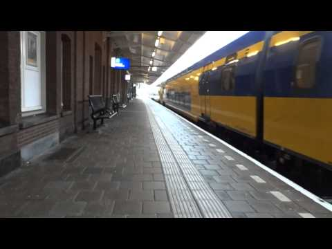 Roermond to Amsterdam Train ride AJAX Stadium, Church, Cars Trains & Holland