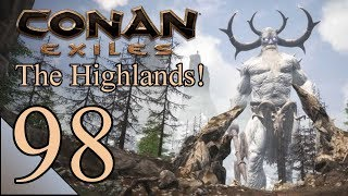 Conan Exiles 98: Black Ice Tower, Ground Floor! Let's Play Conan Exiles Gameplay