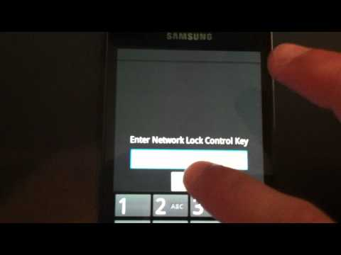 HOW TO UNLOCK SAMSUNG GALAXY S2 II (GT-9100, T989) - Unlocking Code Samsung Galaxy II i9100