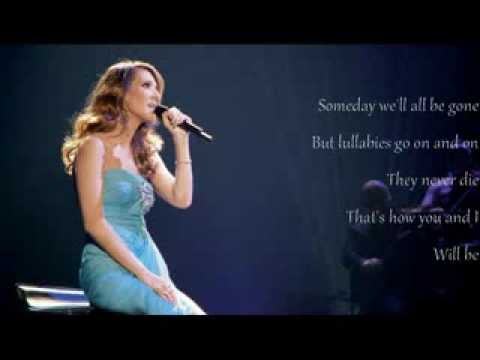 Celine Dion  Lyrics  Lulla Goodnight My Angel