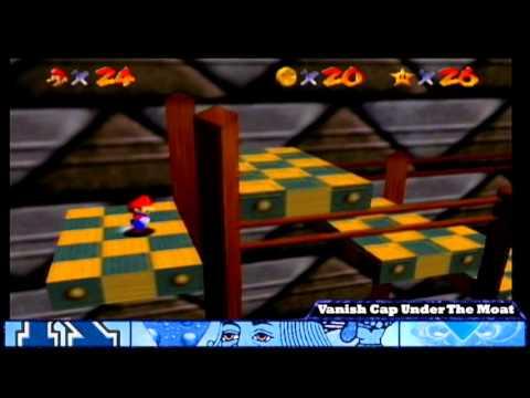 Super Mario 64: Vanish Cap Under The Moat