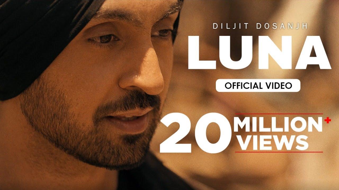 Download Diljit Dosanjh: LUNA (Official Video) Intense   Arjan Dhillon   MoonChild Era