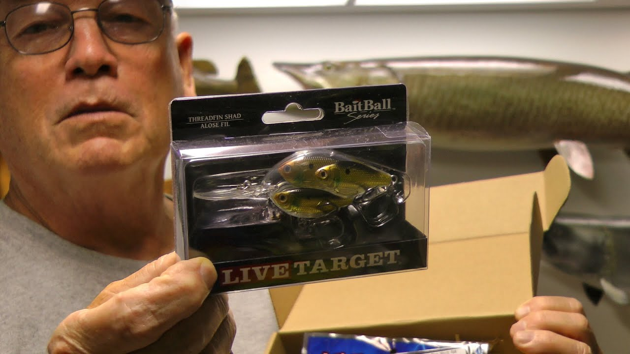 July Mystery Tackle Box Review Of Some Great Baits Live