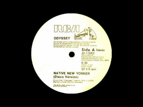 Odyssey ft Lillian Lopez - Native New Yorker (RCA Records 1977)