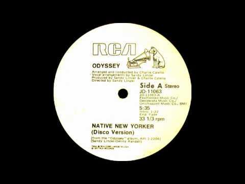 Odyssey ft Lillian Lopez - Native New Yorker (RCA Records 1977)