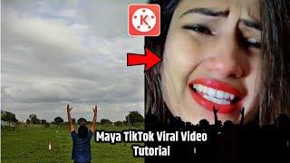 Maya Tune o Jana Deewana kiya Hai | TikTok Sky Girl Effect video kaise Banay