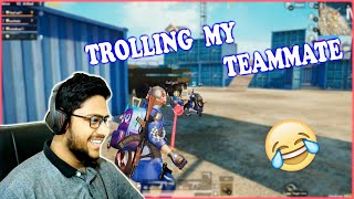 PUBG MOBILE IS COMEDY???? LOL || TROLLING MY TEAMMATES || PUBG MOBILE FUNNY MOMENTS || WAIT FOR ENDI