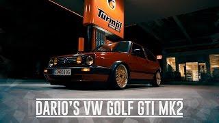 Dario's beautiful VW Golf GTI Mk2! [Car Porn][HD]