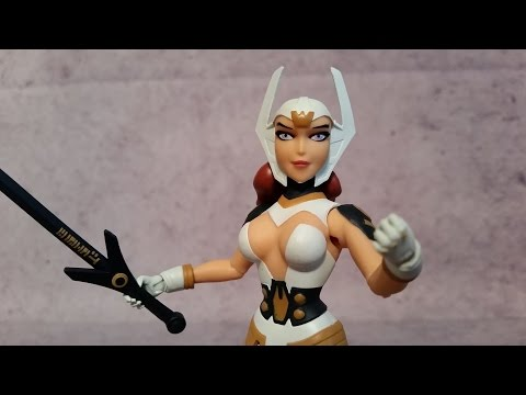 Wonder Woman - Justice League Gods and Monsters - Bruce Timm Animated Action Figure Review
