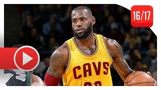LeBron James UNREAL Highlights vs Bucks (2016.12.20) - 34 Pts, 12 Reb, 7 Ast, COLD BLOODED!
