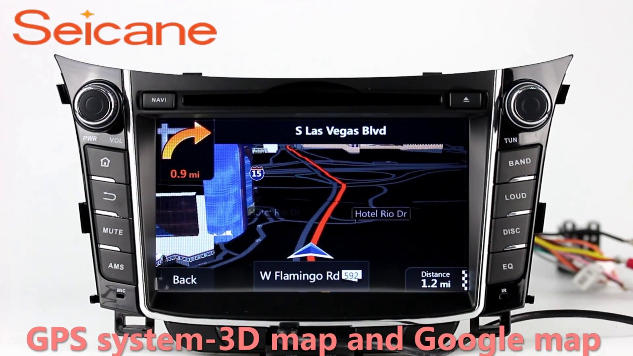 2011 2012 2013 hyundai i30 in dash radio dvd gps. Black Bedroom Furniture Sets. Home Design Ideas