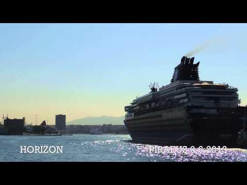 HORIZON arrival at Piraeus Port