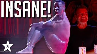 THAT'S NOT NORMAL! Insane Contortionist on America's Got Talent: the Champions 2020  