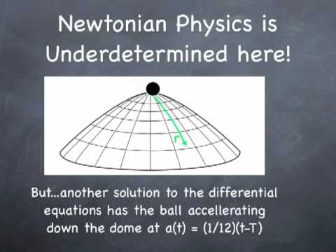 Newtonian Physics is Nondeterministic!!