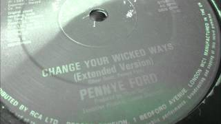 "Penny Ford  - Change your wicked ways. 1984 (12"" Extended version)"