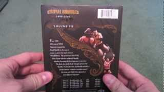 WWE ROYAL RUMBLE ANTHOLOGY VOL 3 UNBOXING