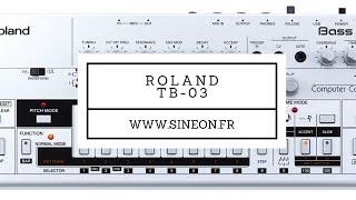 TB-03 ROLAND - [TUTO MAO GUITARE]
