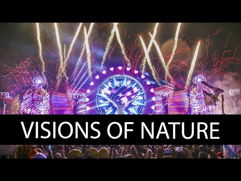 VISIONS OF NATURE KINETIC TEMPLE - EDC MEXICO 2017 #EDCMX