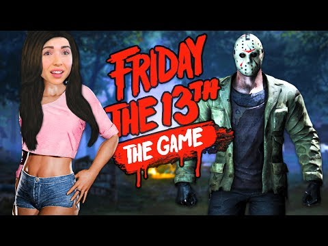 FRIDAY THE 13th GAME - I'M ALL ALONE!!