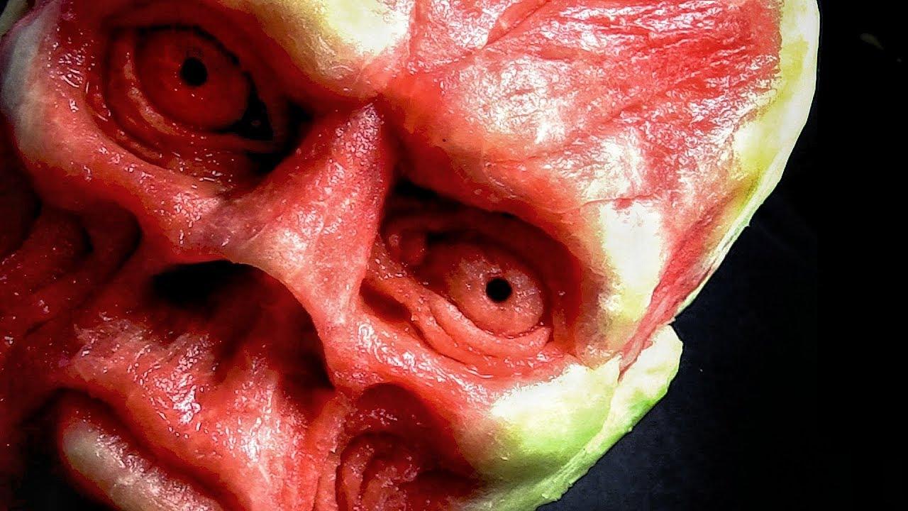 Best watermelon red skull scuruchi fruttart youtube