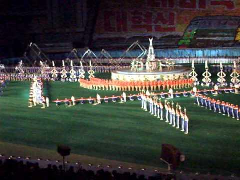 "Arirang Mass Games ""6"" - Pyongyang - 25/09/2010"