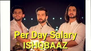 Per Day Salary of ISHQBAAZ Actors
