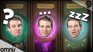 Hearthstone Release Pacing w/ Brian Kibler (too fast or too slow?)