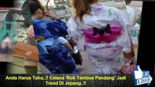 Anda Harus Tahu..!! Celana 'Rok Tembus Pandang' Jadi Trend Di Jepang..!!
