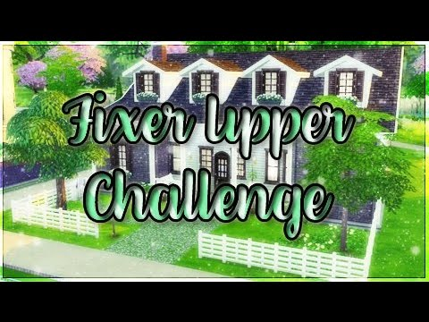 The Sims 4: Fixer Upper Challenge | Home Renovation | Safety Hazard