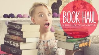Book Haul | Tanie książki | The Carolina's Book