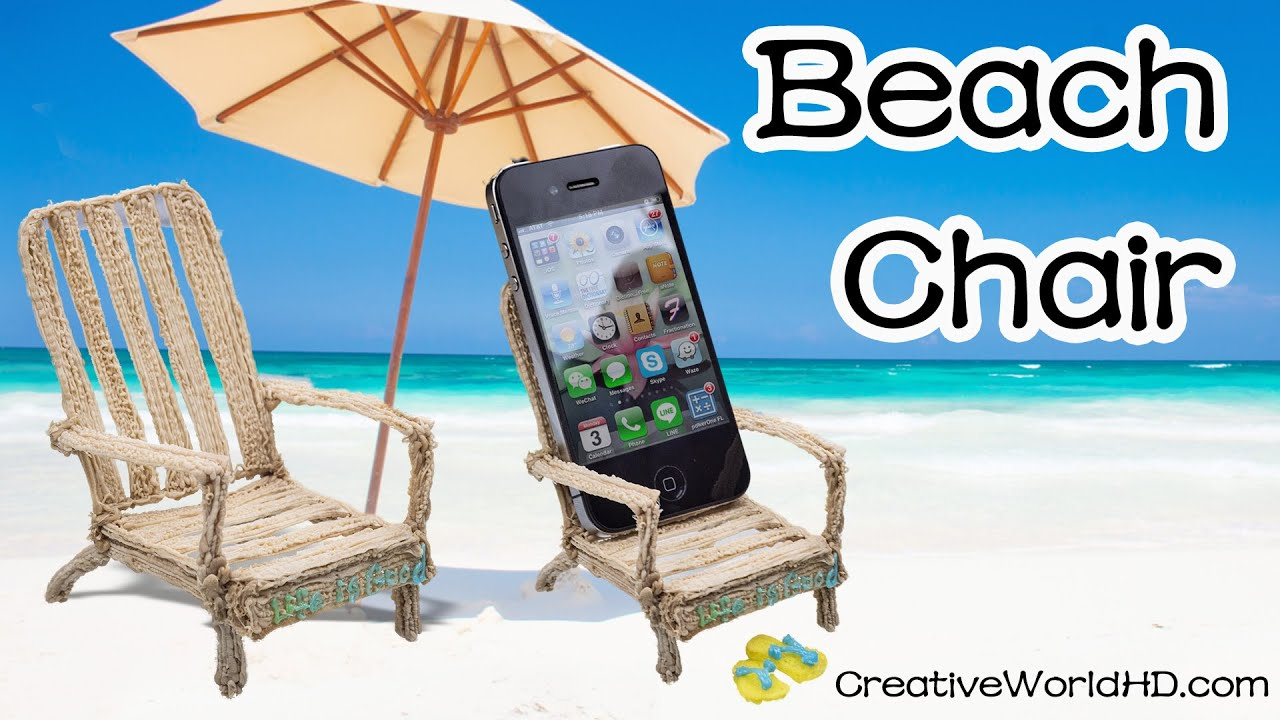 How to Make Beach Chair Phone Holder Stand 3D Printing Pen