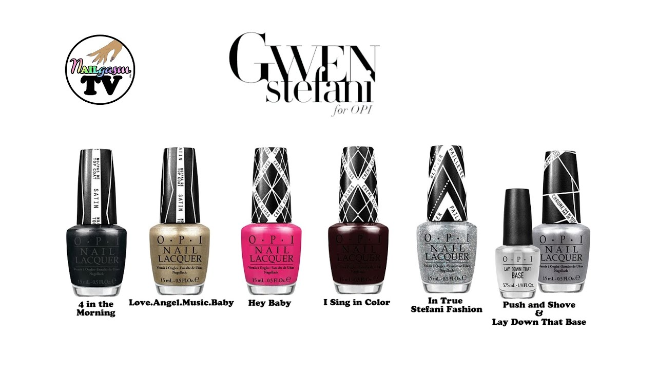 Gwen Stefani for OPI Nail Polish Collection 2013