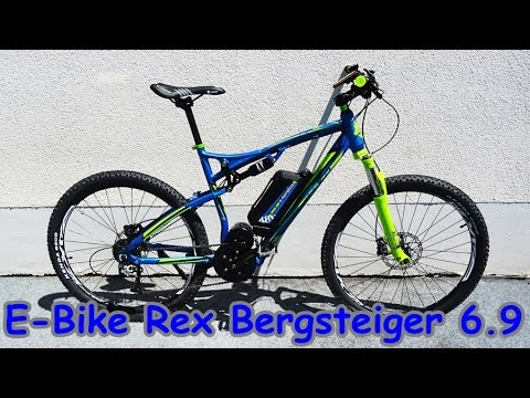 e bike prophete rex bergsteiger 6 9 unpacking and. Black Bedroom Furniture Sets. Home Design Ideas