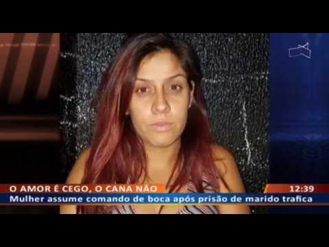 DF ALERTA - Mulher assume comando de boca após prisão de marido traficante