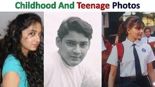 Tamil Celebrities Rare Childhood and teenage Photos👍