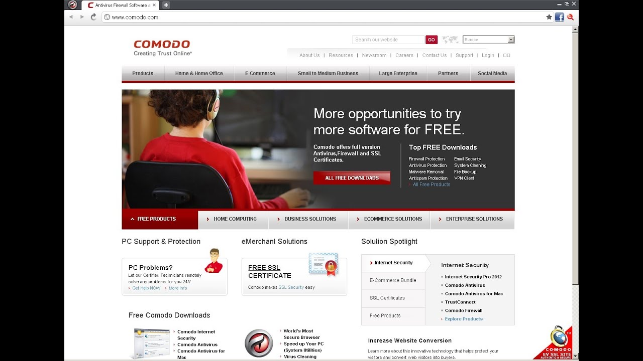 Comodo Dragon Internet Browser Review