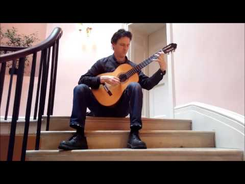 Classical guitar on Sharpham stairwell