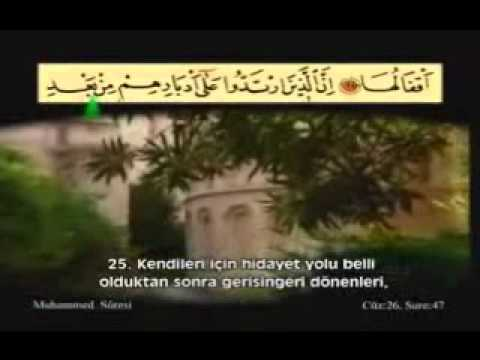 Ahmet El Acemi---Muhammed Suresi-1/1