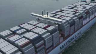 Maersk Line Triple-E | Largest container ship in the world (2012) | Hardware Ship (1080p)