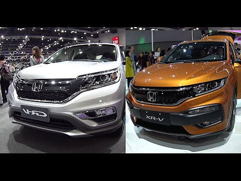 new 2016 2017 honda crv vs honda hrv video review youtube. Black Bedroom Furniture Sets. Home Design Ideas